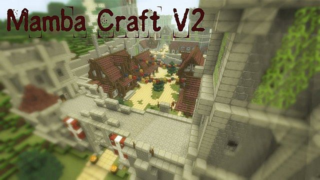 42485  Mamba craft texture pack [1.5.2/1.5.1] [32x] Mamba Craft Texture Pack Download