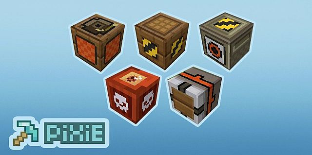 4fd17  PiXie texture pack 1 [1.5.2/1.5.1] [16x] PiXiE Texture Pack Download
