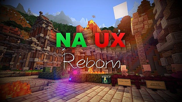 627d9  NA UX reborn texture pack [1.7.2/1.6.4] [16x] NA UX Reborn Texture Pack Download