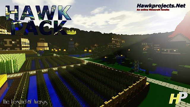 66d88  Hawkpack alpha texture pack [1.5.2/1.5.1] [32x] Hawkpack [Alpha] Texture Pack Download