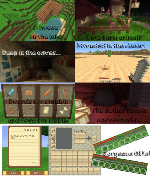 6ae70  Adora Texture Pack 1 [1.5.2/1.5.1] [16x] Adora Texture Pack Download