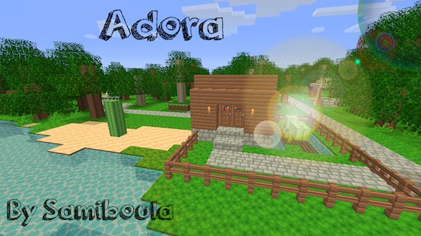 6ae70  Adora Texture Pack [1.5.2/1.5.1] [16x] Adora Texture Pack Download