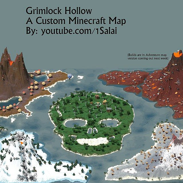 6e36e  Grimlock Hollow Map 5 [1.6.2/1.6.1] Grimlock Hollow Map Download