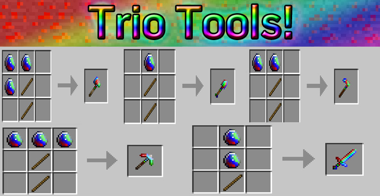 bd70c  Trio Gems Mod 5 Trio Gems Screenshots and Recipes