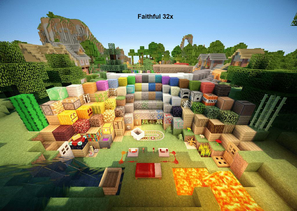 c7477  FaithfulVenom Texture Pack 2 [1.5.2/1.5.1] [32x] FaithfulVenom Texture Pack Download