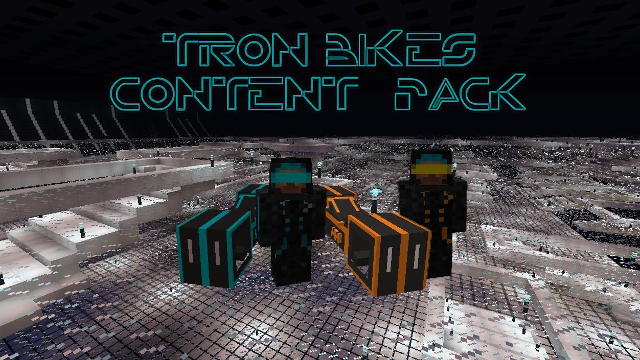 Tron Bikes Content Pack Mod