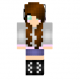 f2799  Adorable brunette girl skin1 80x80 [1.11.2] Integrated Tunnels Mod Download