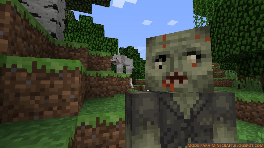 1 5 2 walking dead mod download minecraft forum for Crafting dead server download