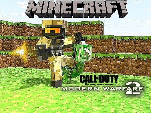 41583  Modern warfare 2 texture pack [1.7.2/1.6.4] [128x] Modern Warfare 2 Texture Pack Download