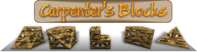 46e93  Carpenters Blocks Mod [1.6.4] Carpenter's Blocks Mod Download