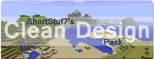 7f673  Clean design texture pack [1.7.2/1.6.4] [16x] ShortStuf7′s Clean Design Texture Pack Download