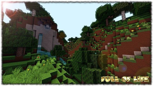 88374  Full of life texture pack [1.7.2/1.6.4] [128x] Full of Life Texture Pack Download