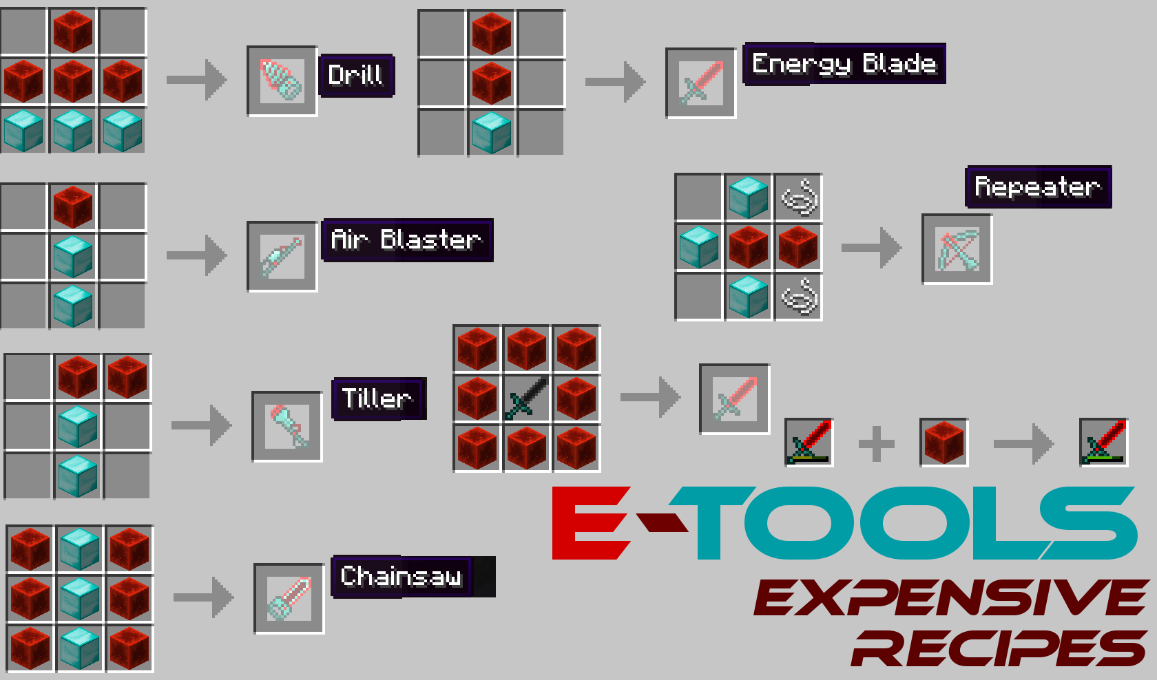 8a38e  E Tools Mod 6 E Tools Recipes