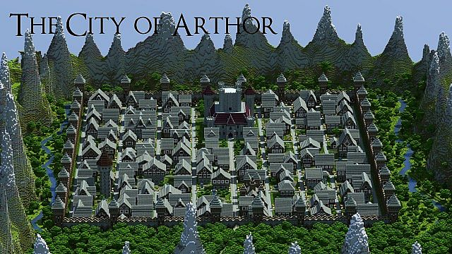 The City of Arthor Map Download | Minecraft Forum