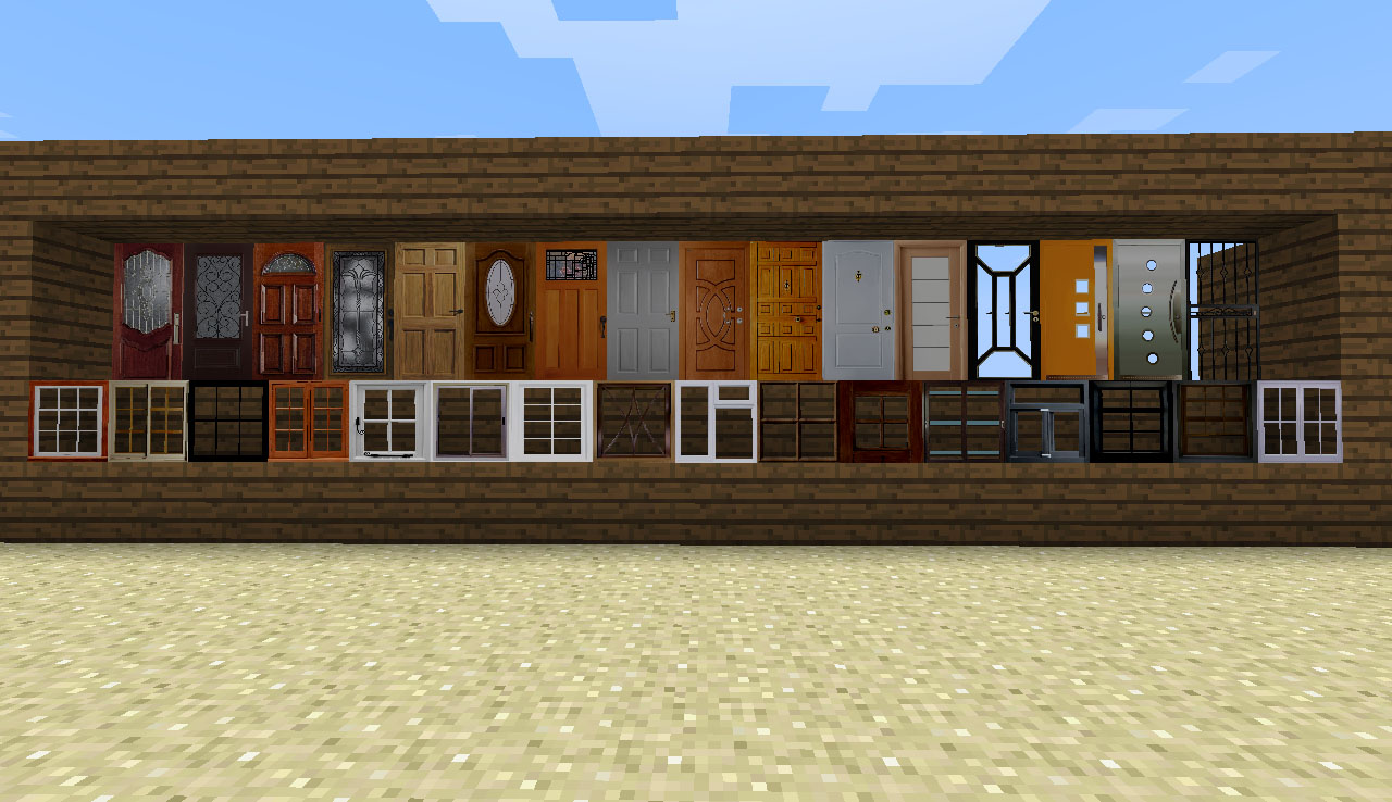 a1155  doors windows SimCraft Screenshots