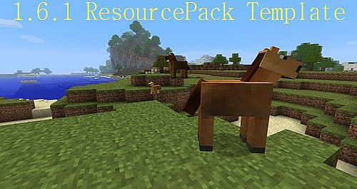 c7e55  Resourcepack template [1.7.2/1.6.4] [16x] Resourcepack Template Download