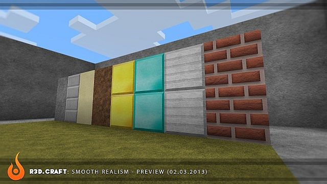 e9cf7  R3D craft smooth realism texture pack 1 [1.9.4/1.8.9] [64x] R3D.CRAFT – Smooth Realism Texture Pack Download
