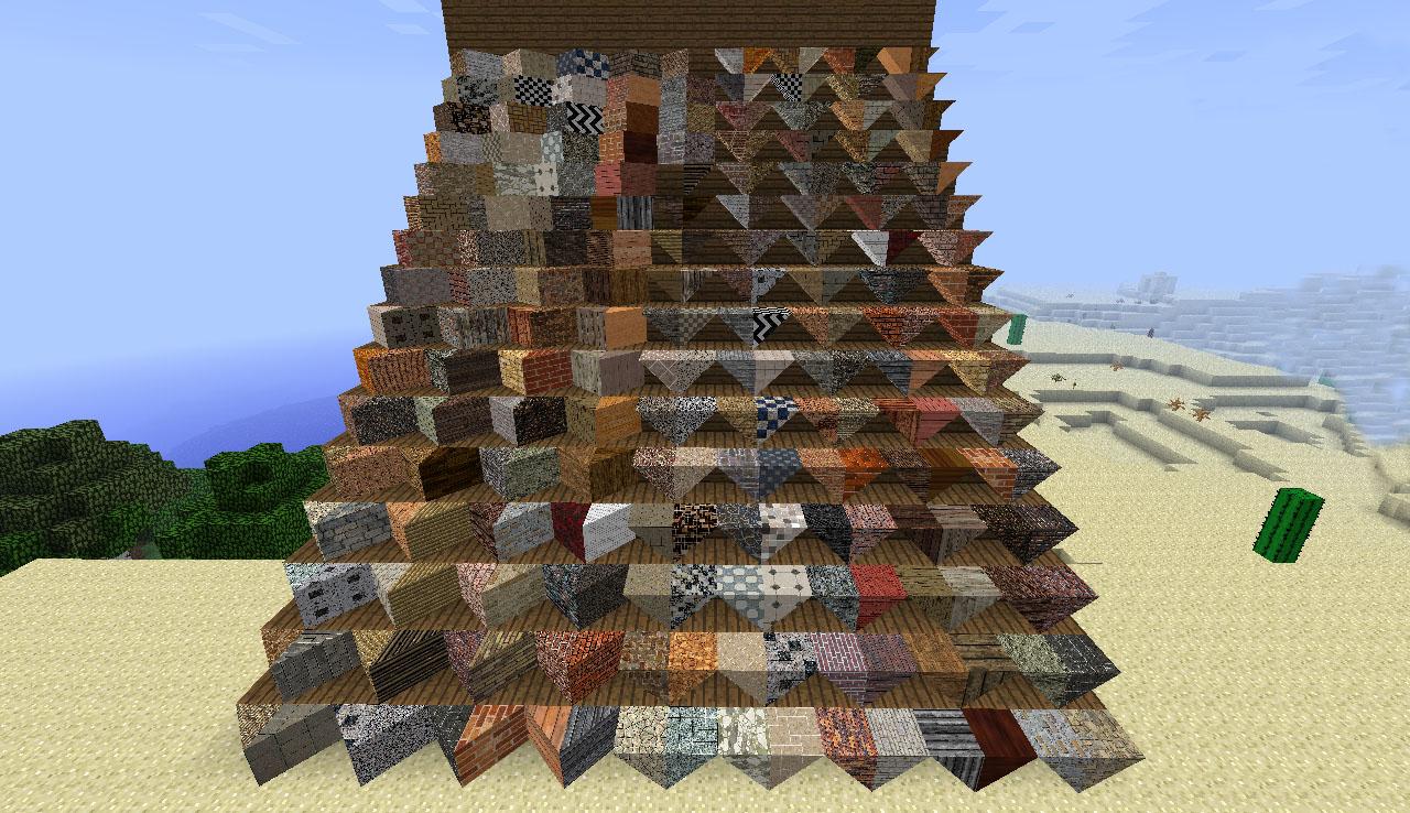 how to make carpet in mine blocks