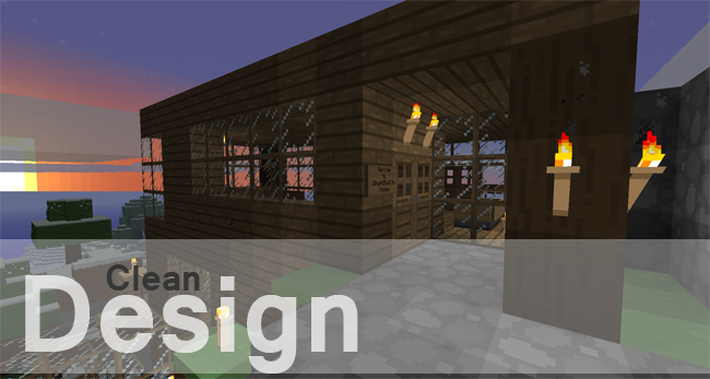 f48cc  Clean design texture pack 5 [1.7.2/1.6.4] [16x] ShortStuf7′s Clean Design Texture Pack Download