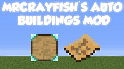 fa01b  MrCrayfishs Auto Buildings Mod [1.6.2] MrCrayfish's Auto Buildings Mod Download