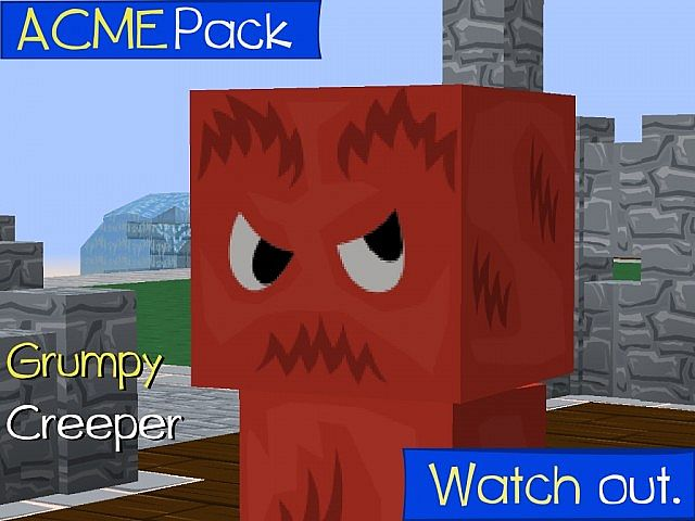 fed53  ACME texture pack 3 [1.9.4/1.8.9] [256x] ACME Texture Pack Download