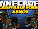 [1.6.2] Craftable Horse Armor Mod Download