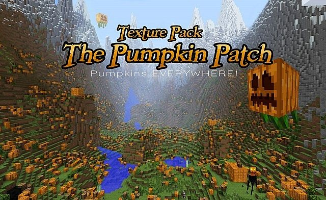 0df8b  Pumpkin Patch Texture Pack [1.9.4/1.8.9] [32x] Pumpkin Patch Texture Pack Download