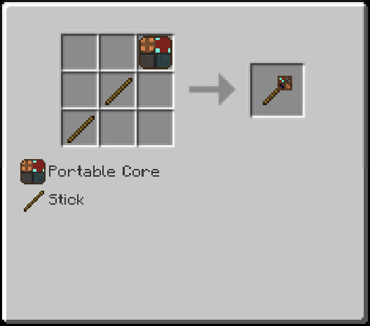 Simple Portables Mod Recipes