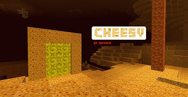 3e498  Cheesy hd texture pack [1.7.2/1.6.4] [256x] Cheesy HD Texture Pack Download