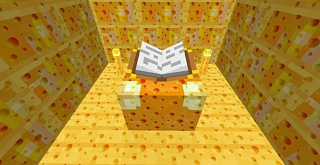 97076  Cheesy hd texture pack 4 [1.7.2/1.6.4] [256x] Cheesy HD Texture Pack Download