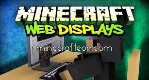 minecraft web display mod server