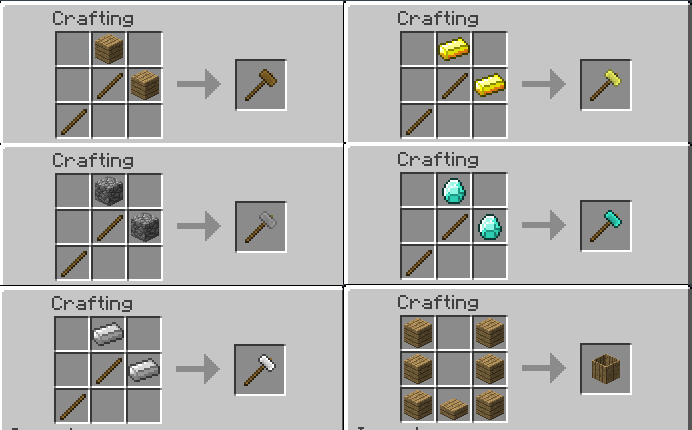 48533  juU3Z27 Skyblock Companion Recipes