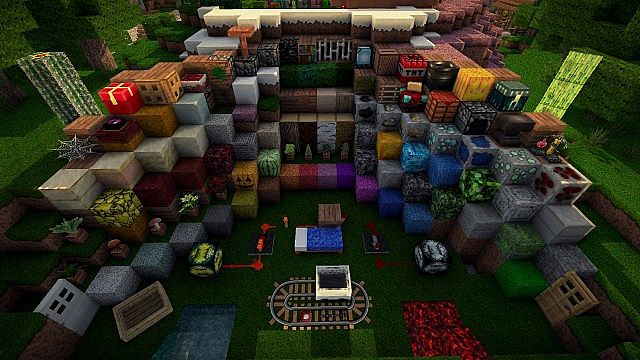 4b763  Bufycraft realistic texture pack 3 [1.7.10/1.6.4] [128x] BufyCraft Realistic Texture Pack Download
