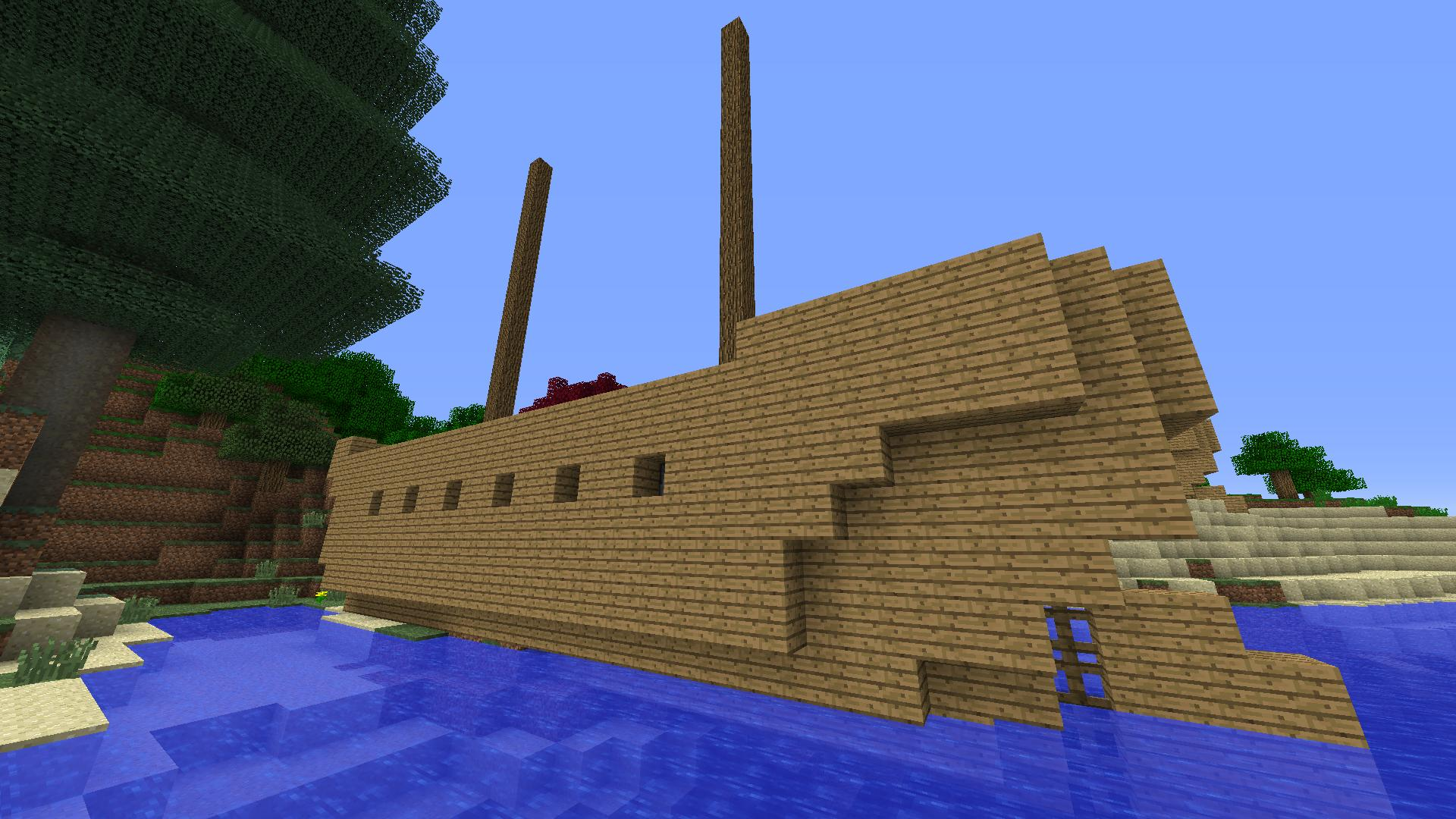 Shipwreck World Generation Mod