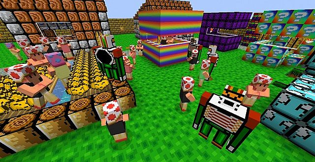 7a88c  Nates mario texture pack 5 [1.7.2/1.6.4] [16x] Nates Mario Texture Pack Download