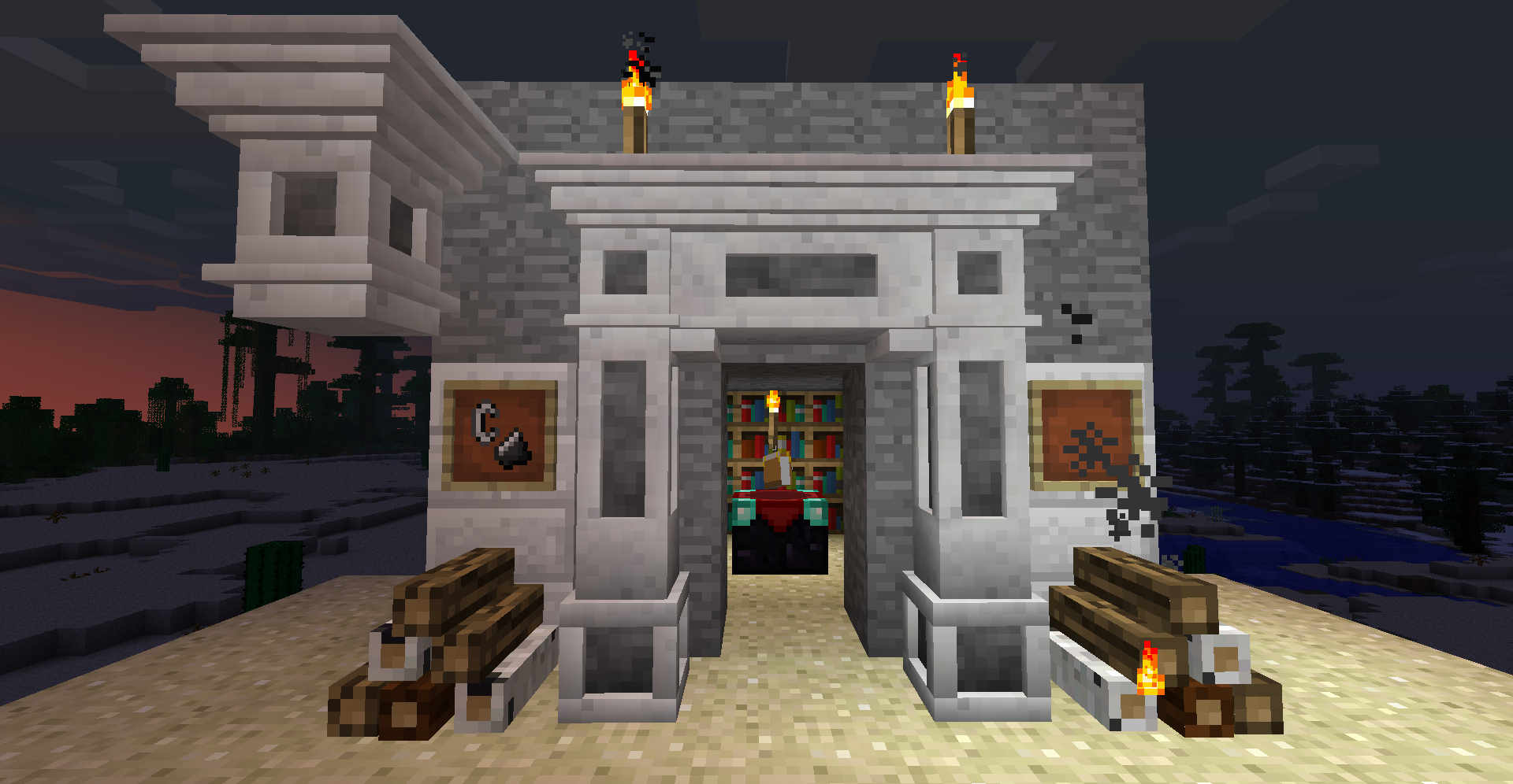 Decorative Marble, Decorative Chimneys Mod