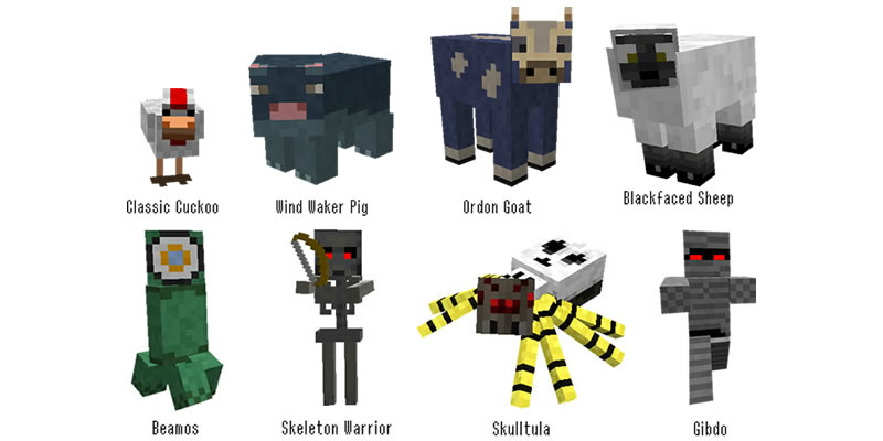 b18a4  Kakariko village resource pack [1.7.2/1.6.4] [32x] Kakariko Village Resource Pack Download
