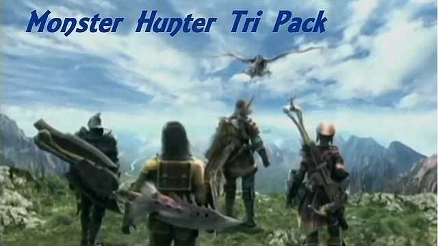 f0e77  Monster hunter tri texture pack [1.7.2/1.6.4] [32x] Monster Hunter Tri Resource Pack Download