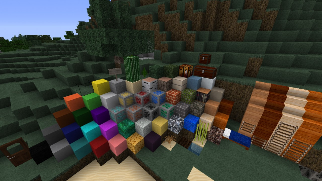 f2702  T craft realistic texture pack 1 [1.7.10/1.6.4] [64x] T Craft Realistic Texture Pack Download