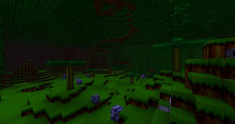 SonicCraft Map