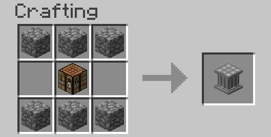 232a9  Crafting Pillar Mod 2 [1.6.4] Crafting Pillar Mod Download