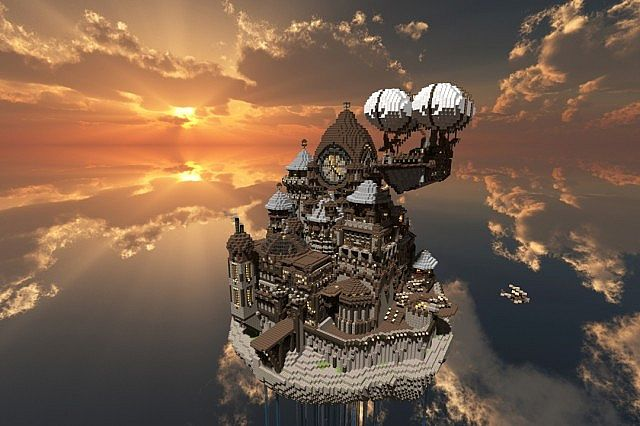 7d94f  Theceran Map 2 Theceran [Flying Steampunk Island] Map Download