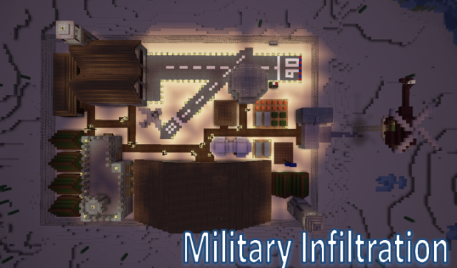 e8898  Military Base Infiltration Map 640x376 [1.7.1/1.6.4] Military Base Infiltration Map Download