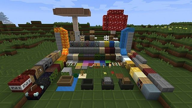 f5084  Pixelperfect pack 1 [1.7.2/1.6.4] [8x] PixelPerfect Texture Pack Download