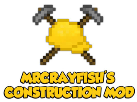 39502  MrCrayfishs Construction Mod [1.6.4] MrCrayfish's Construction Mod Download