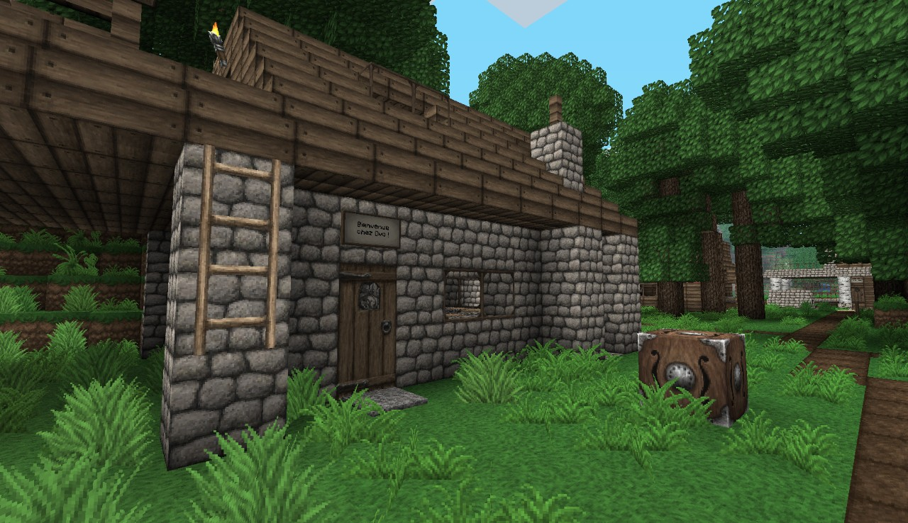 42ede  Ovo 5 [1.7.10/1.6.4] [64x] Ovo's Rustic Texture Pack Download