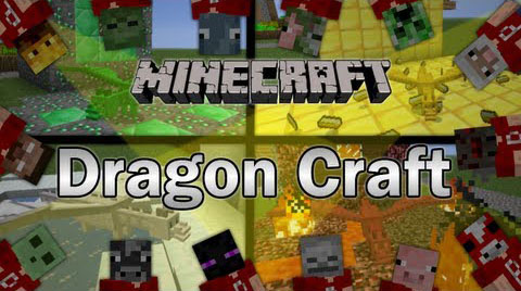 55f77  Dragon Craft Mod [1.6.4] Dragon Craft Mod Download
