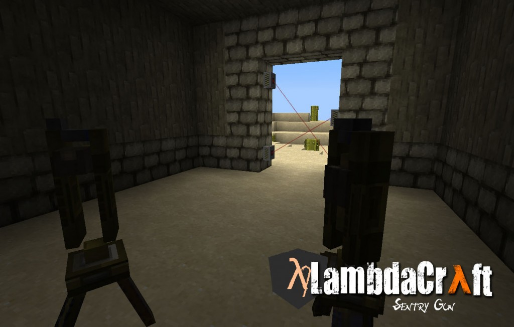 9c3bf  turret 1024x652 LambdaCraft Screenshots