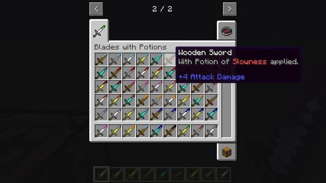 7b631  Potion Blade Mod 1 [1.6.4] Potion Blade Mod Download