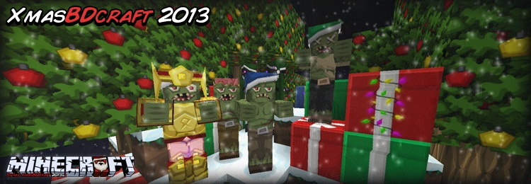 7f1b1  Sphax xmasbdcraft pack [1.7.10/1.6.4] [128x] Sphax XmasBDcraft Texture Pack Download